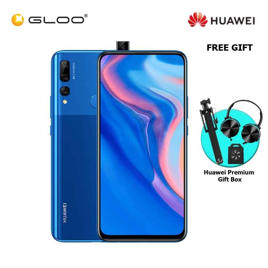 Huawei Y9 Prime 2019 4GB+128GB Sapphire Blue + FREE Premium Gift Box (Headset/Selfie Stick/iRing)