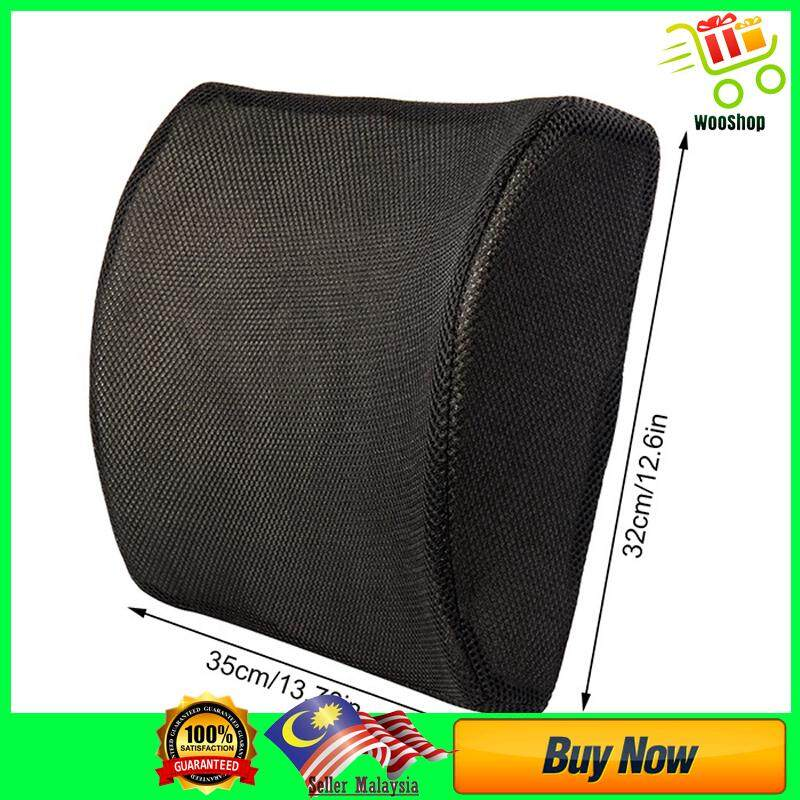 High Quality Lumbar support Car pillow Accessories Chair pil - BLACK