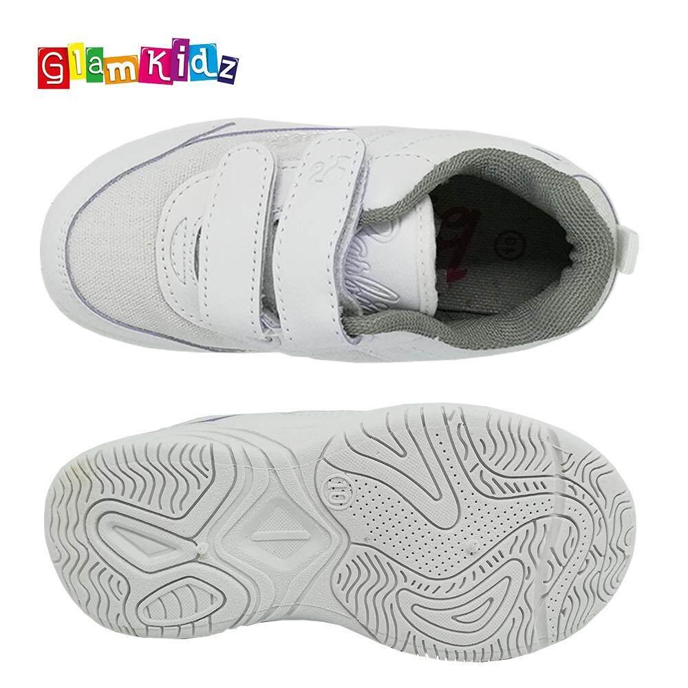 Barbie School Shoes (White) #5-1131