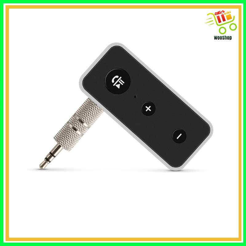 BLUETOOTH 5.0 Audio Receiver 3.5mm AUX Stereo Adapter Portable
