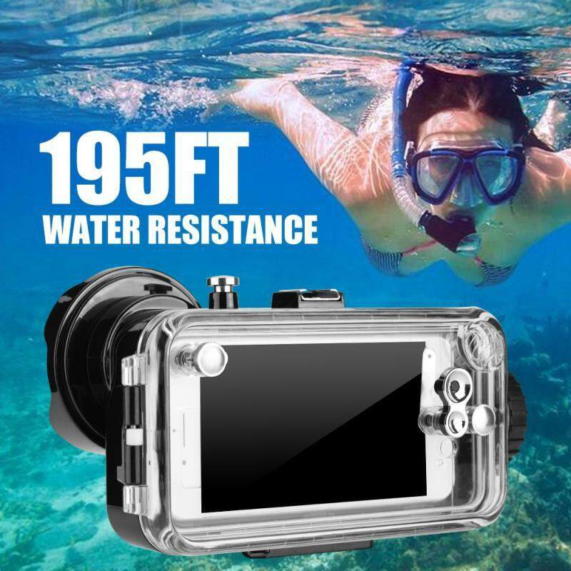 Diving - 195ft Underwater Diving Case 360 Protection Photos Taking Diving Case iPhone - [8P - BLACK / 8P - WHITE / 8P - YELLOW / 8 - WHITE]