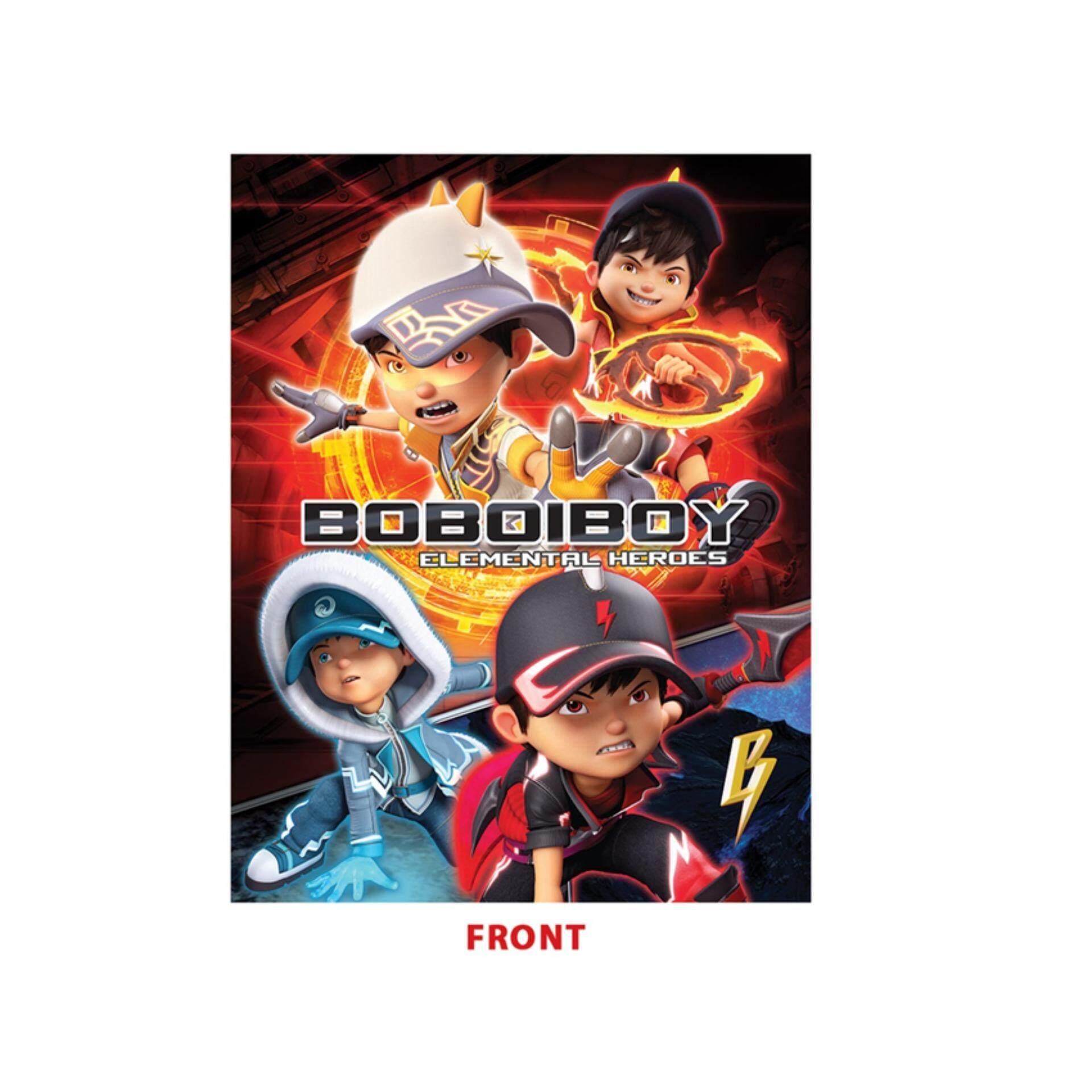 BoBoiBoy Movie 2 2 In 1 Exercise Book - Multicolour