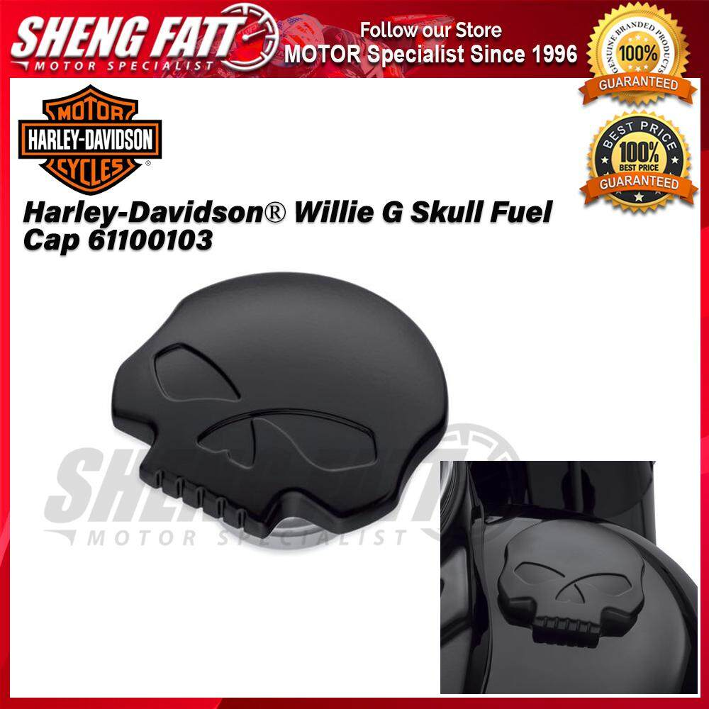 Harley-Davidson® Willie G Skull Fuel Cap 61100103 - [ORIGINAL]