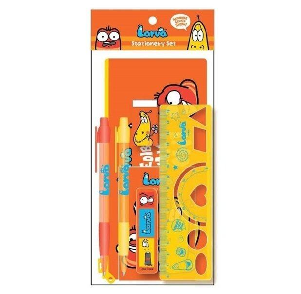 Larva Stationery Set Orange