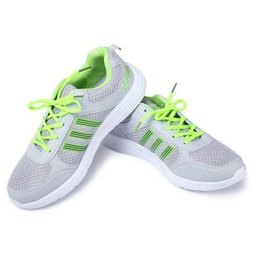 VENTILATE LIGHT NET CLOTH COMFORTABLE MALE SPORT SHOES (LIGHT GRAY)
