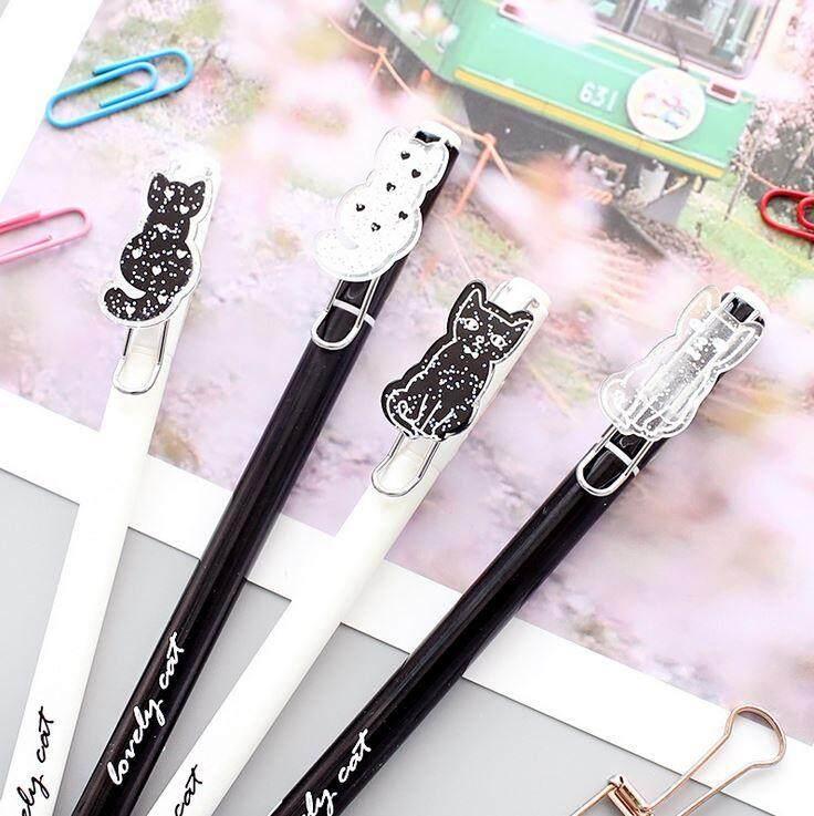 Cute Kitty 0.5 mm Black Ink Water Pen ACC-034