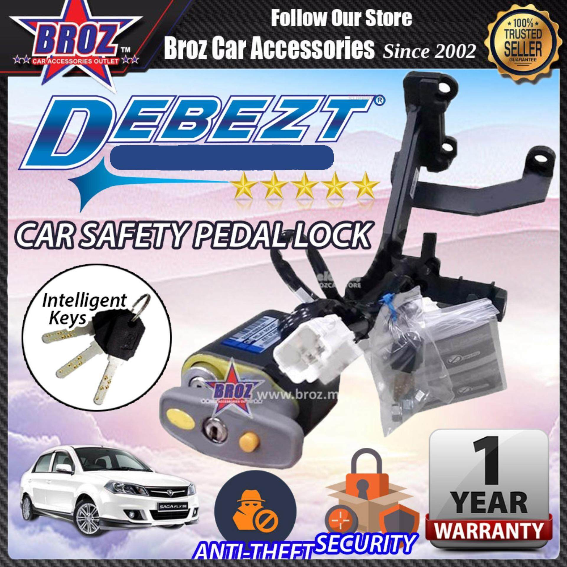 Saga BLM 2008-2015 Debezt Auto/Manual Key Start Anti Theft Double Pedal Lock