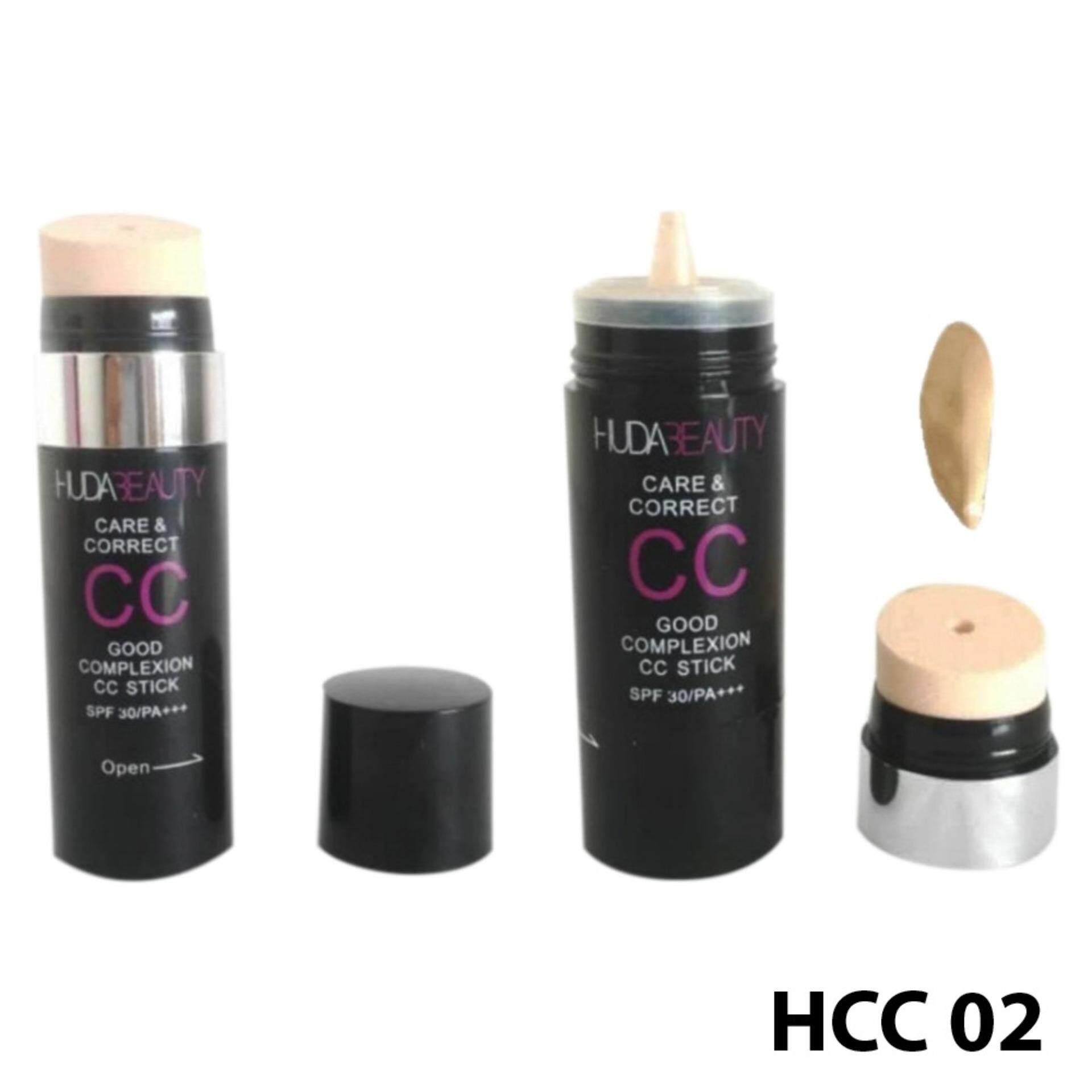 Branded Care & Corrector CC Foundation Stick Refillable SPF 30/PA +++ No. 02