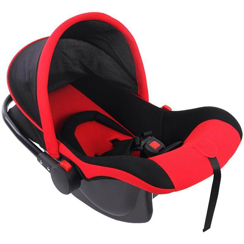Louis Le Petit BAY0024RD Multi Purpose Baby Carrier Car Seat Cradle Rocker with Safety Belt (Red Color)