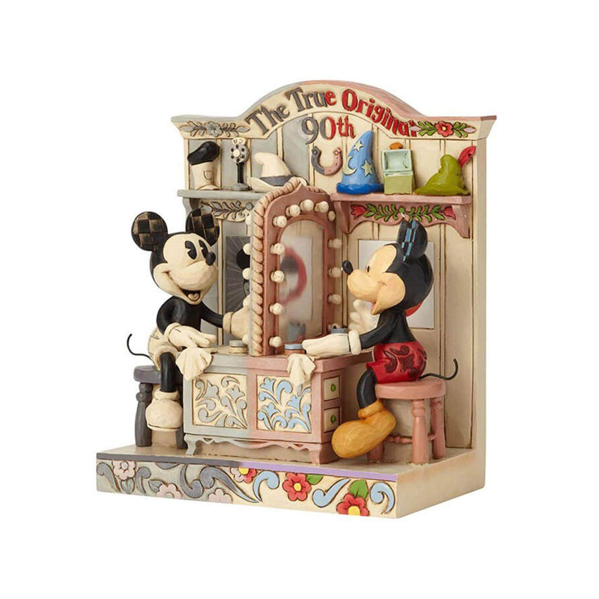 Disney Enesco Mickey 90th Anniversary Collection - Dull And Colourful
