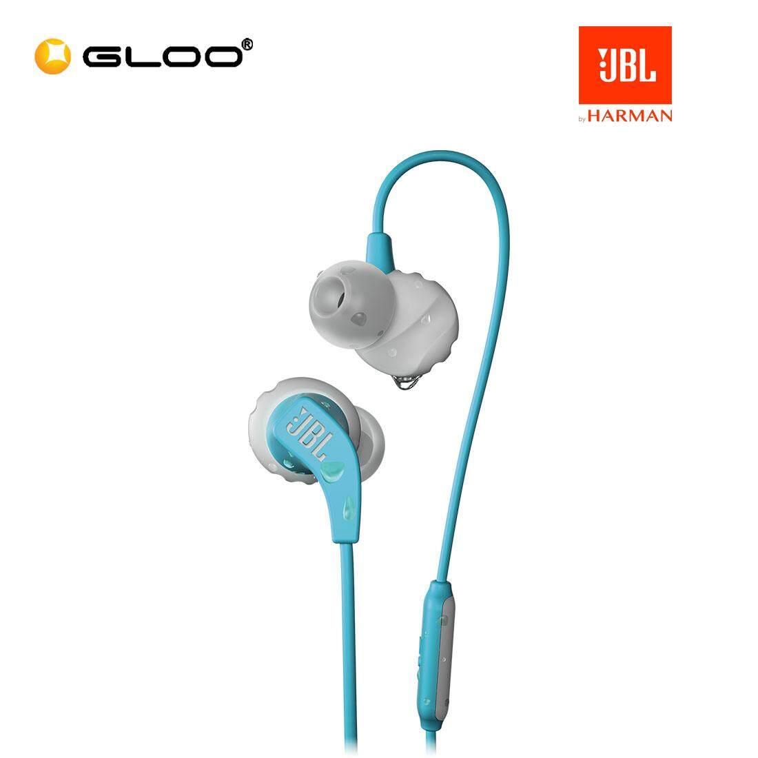 JBL Endurance Run Headphone (Blue/Red/Teal)