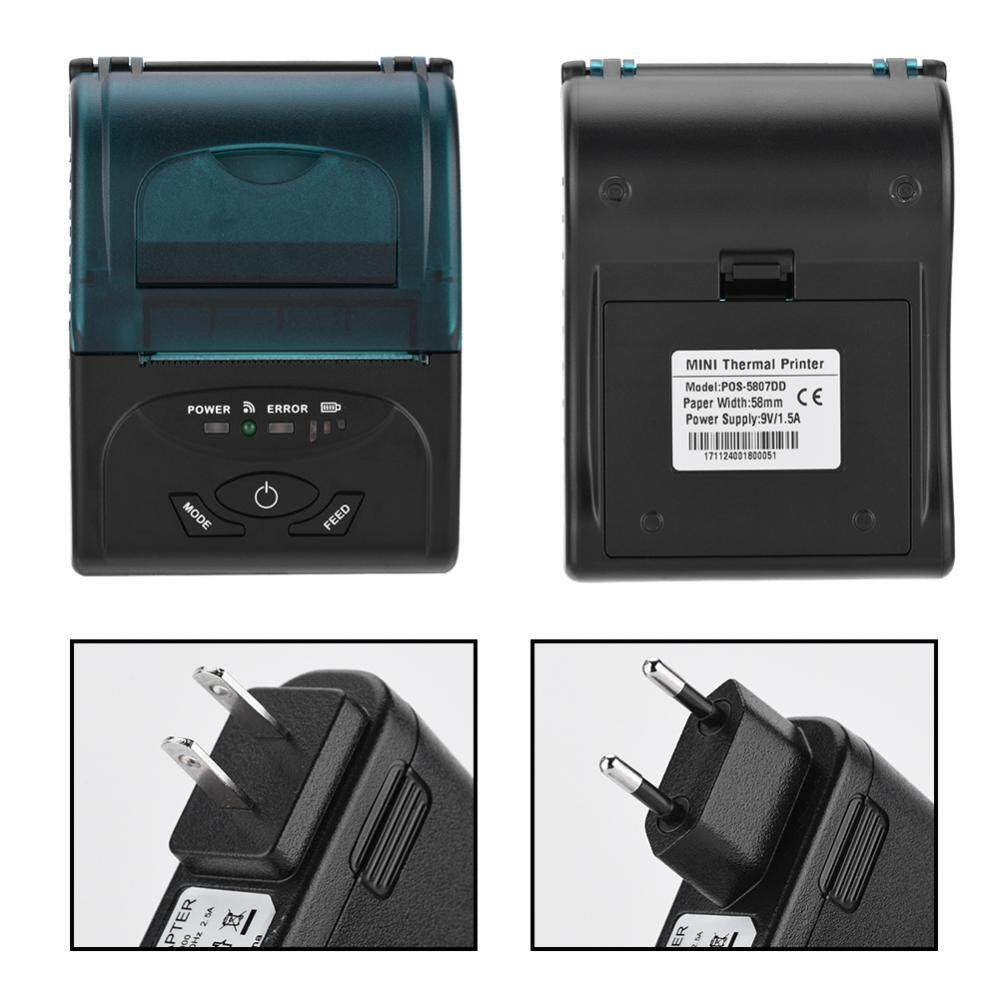 Printers - Printing Bluetooth Thermal Printer Thermal Line Dot System USB Thermal Printer - [US PLUG / EU PLUG]