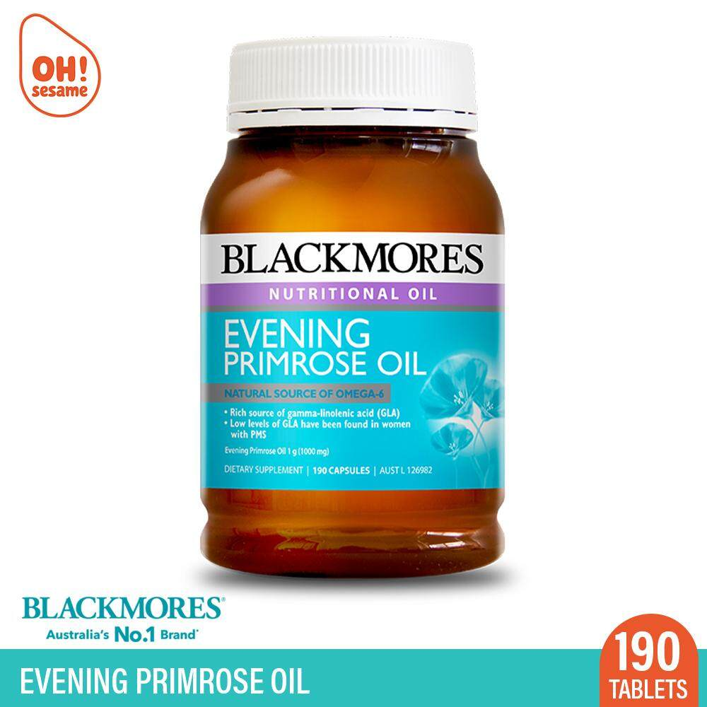 Blackmores Evening Primrose Oil 190 Tablets (Expiry: 2020/02)