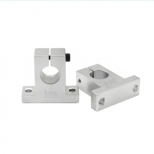 Aluminium alloy Linear Rail Shaft Guide Support Bracket 8/10/12/16mm For 3D Printer Bearing CNC Step Motor