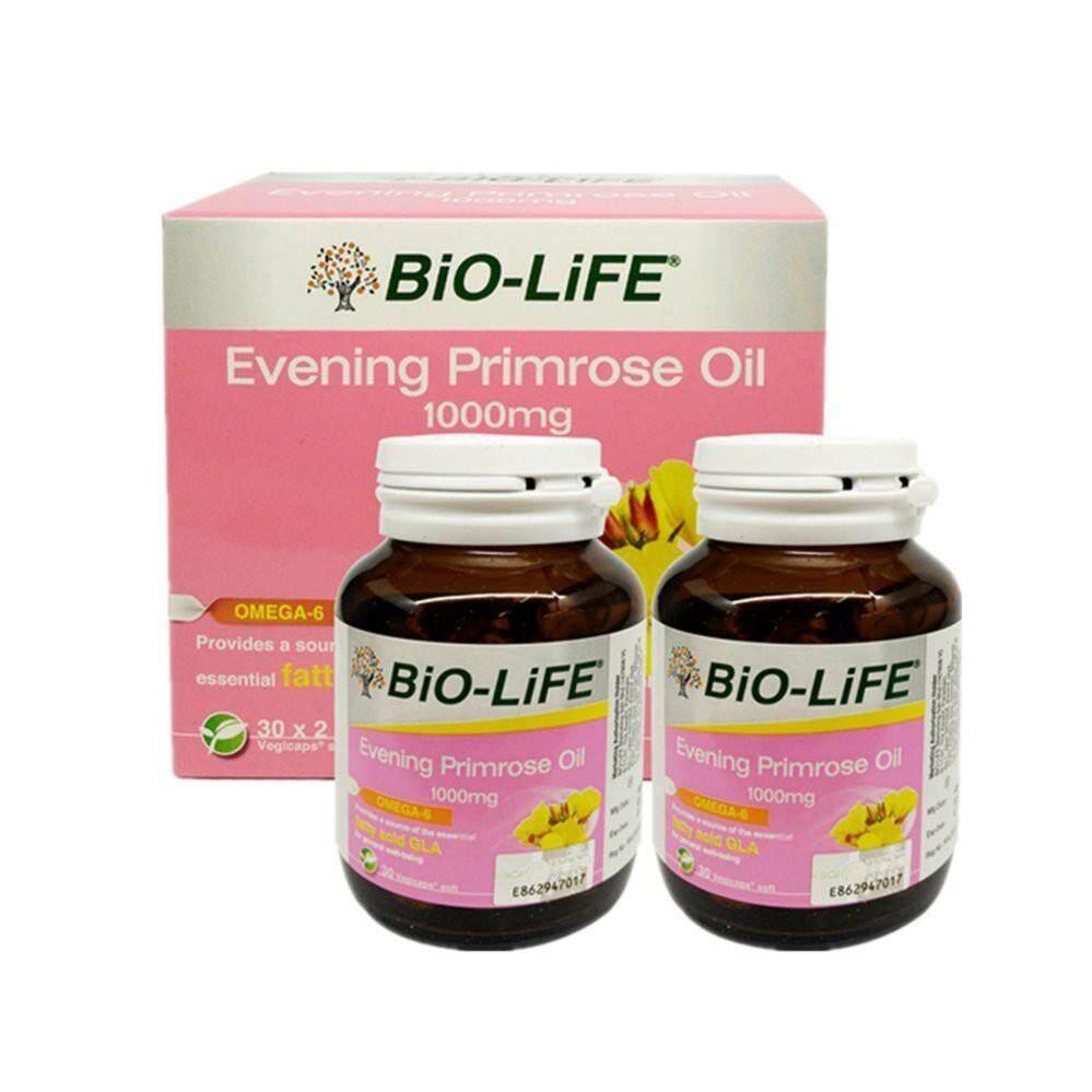 Bio-life EPO Evening Primrose Oil 1000mg 2X30s