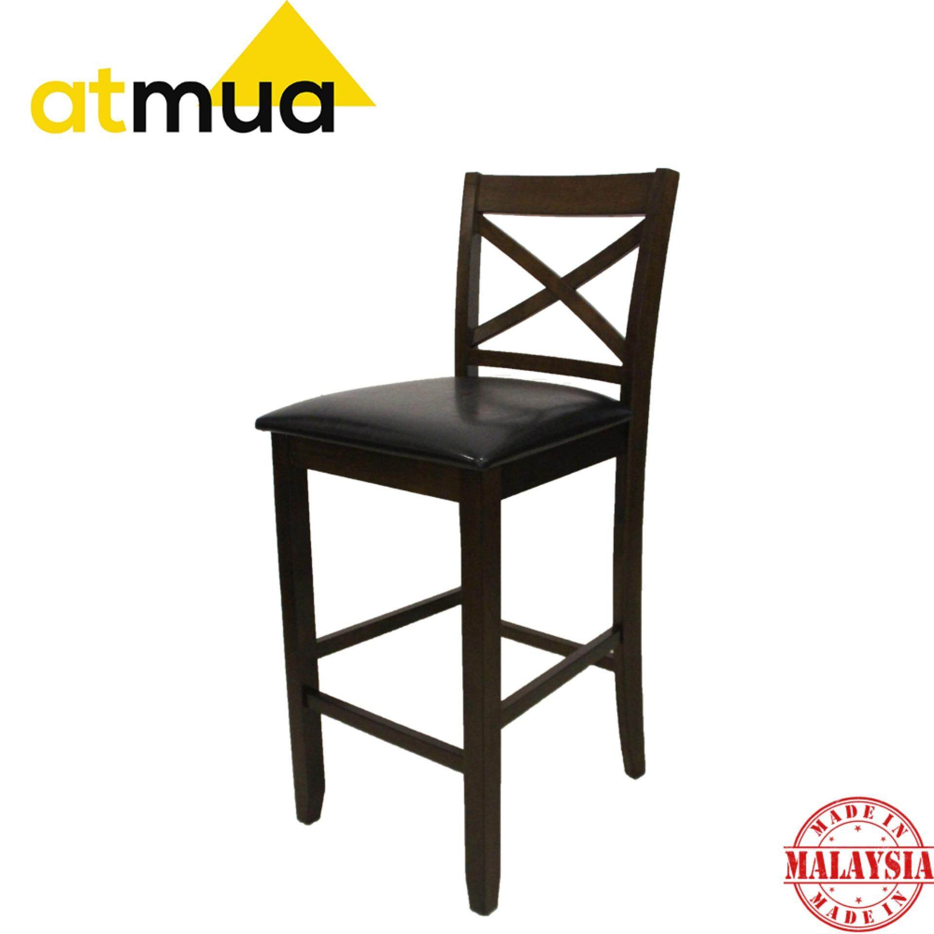 Atmua Standard  Bar Chair - Height 29 inch [Full Solid Wood]