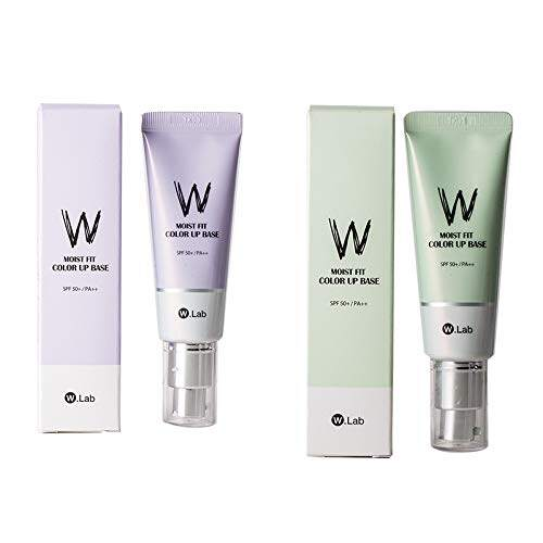 W.lab Moist Fit Color Up Base, SPF 50+ PA++ 3 In 1 Concealing Sunscreen  Isolation Cream, Full Coverage Whitening Brightening Covering Pores, 45ML  (green) | Lazada