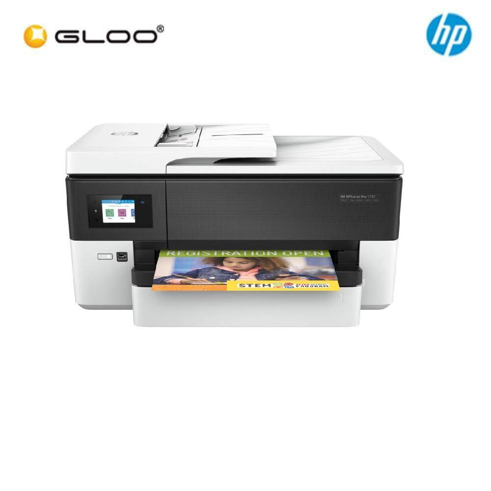 HP OfficeJet Pro 7720 AIO Printer (Y0S18A) - White