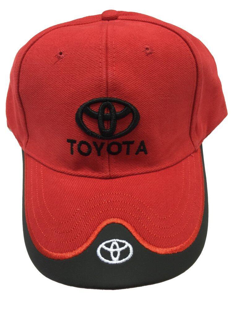 Toyota Logo Cap Red