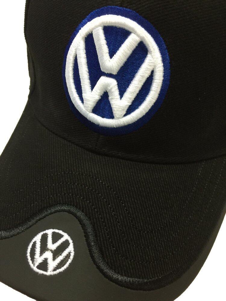Volkswagen Logo Cap Black