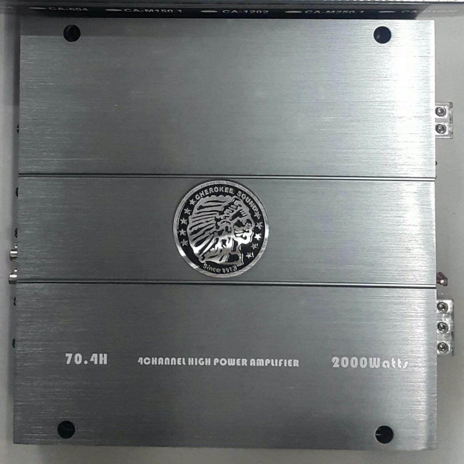 Cherokee 4 Channel Power Amplifier MAX POWER 2000 WATTS