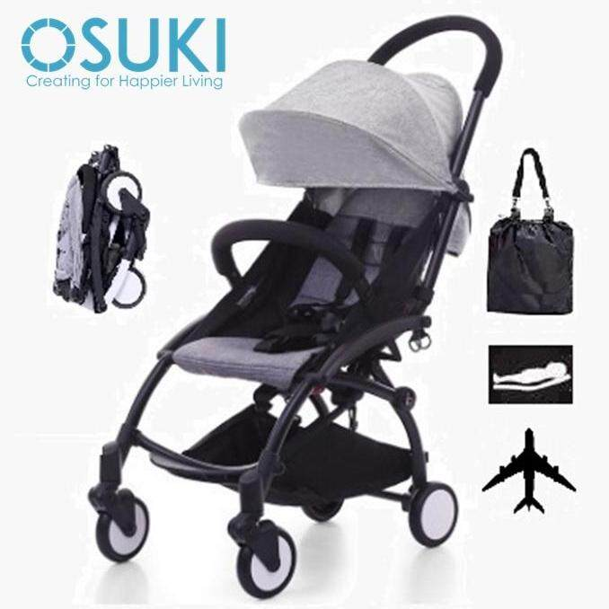 OSUKI Compatto Light Weight Stroller (FREE Bag) Compact Fold Baby Stroller