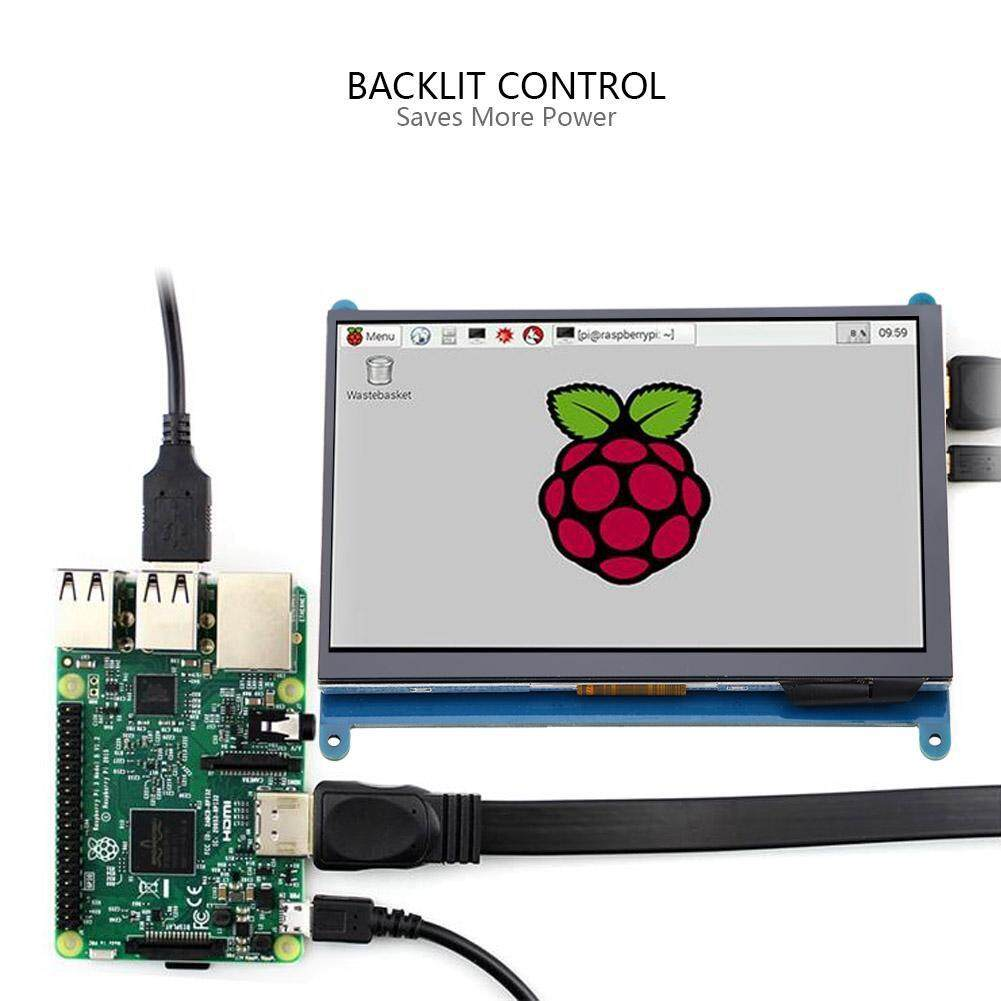 Monitors - 7in Full-view IPS Touch Screen LCD Display for Raspberry Pi