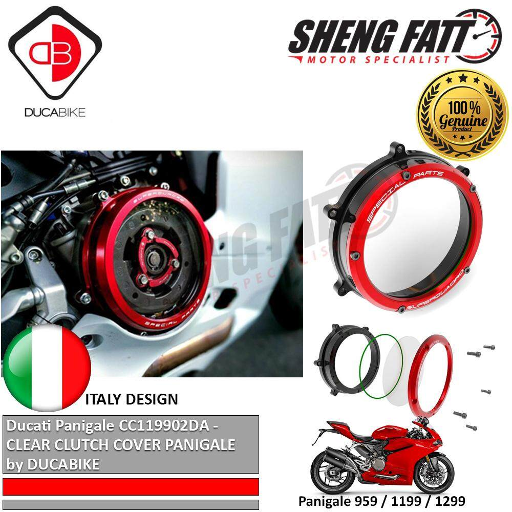 Ducati Panigale CC119902DA - Clear Clutch Cover by DUCABIKE