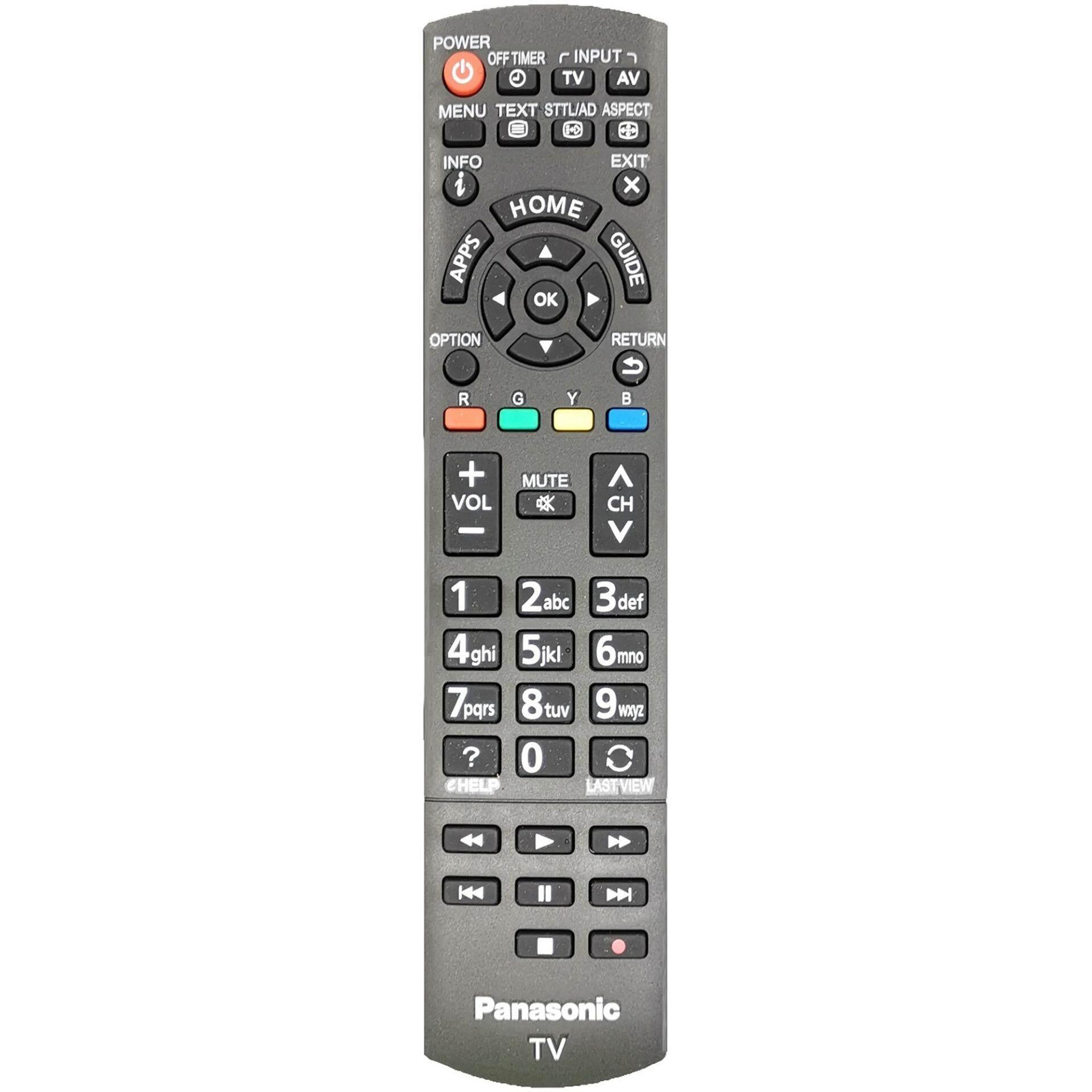 N2QAYB000934 PANASONIC SMART LCD/LED TV REMOTE CONTROL