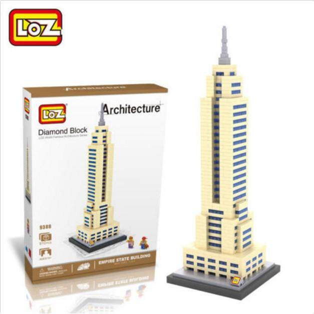 Architecture/Building Series: Empire State Building Loz 9388 Nano/Diamond Block
