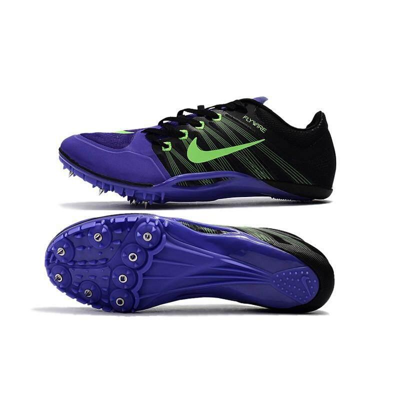 ยี่ห้อไหนดี  ยะลา Nike Sprint spikes Flywire สีดำสีม่วง Mens ข้อต่ำฟุตบอลฟุตบอล shoes39-45