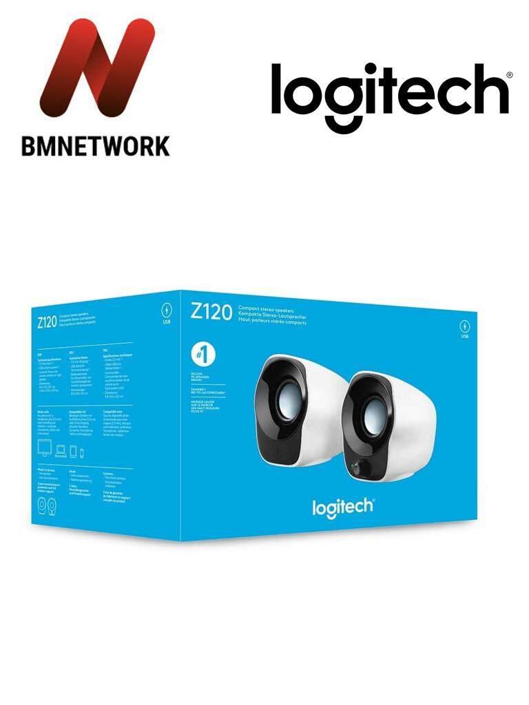 Logitech Speaker Z120 USB Power/3.5mm Audio