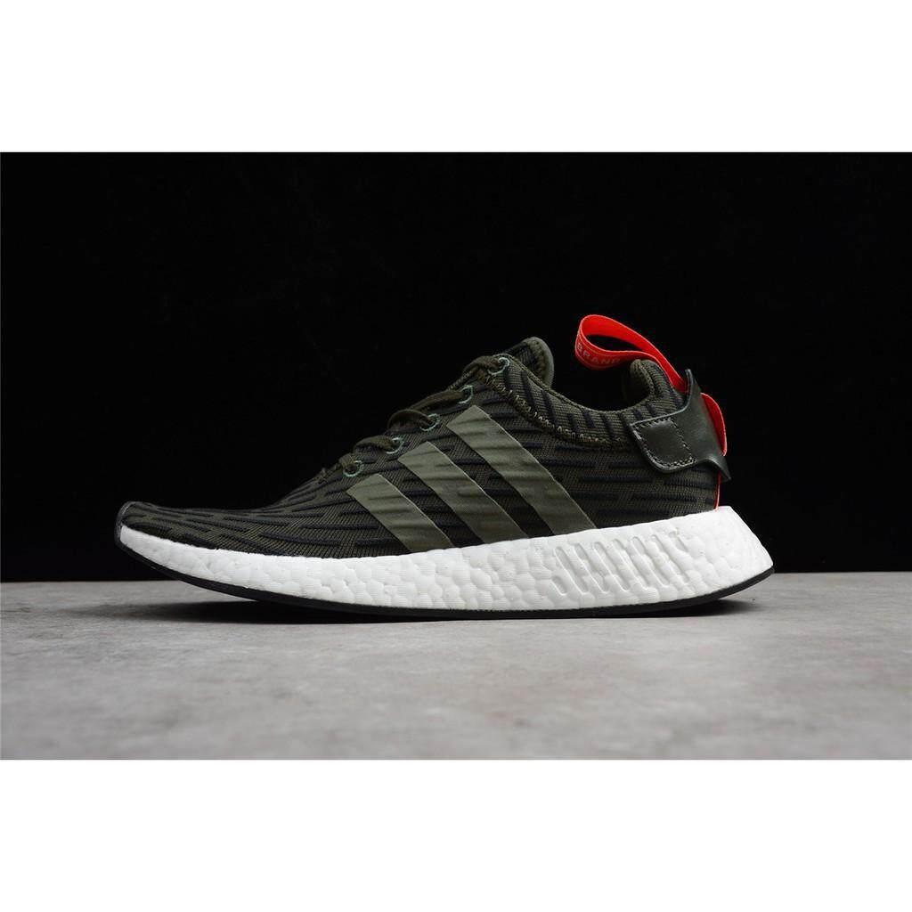 ยี่ห้อไหนดี  แพร่ Adidas NMD R2 Boost Running รองเท้า BY2245 BY2499 BY2500