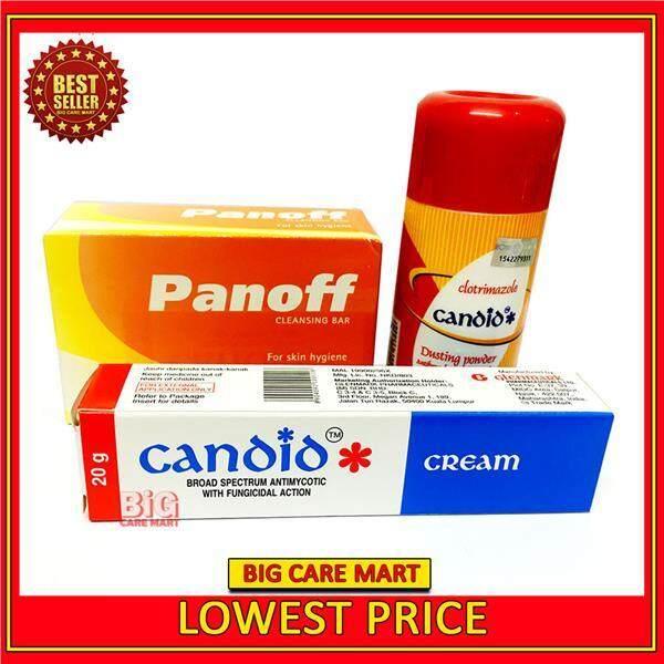 Anti-Fungal Treatment Set : Candid Cream& Powder & Sulfur Soap