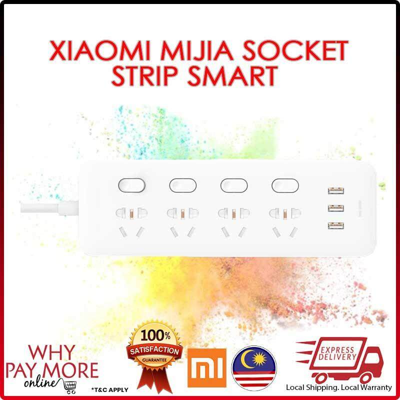 Original Xiaomi Mijia Power Socket Strip Smart Wifi Control Switch 4 Ports USB