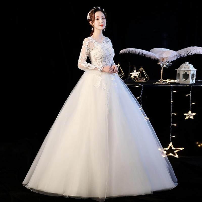 Wedding Dress Mrs Win Full Sleeve Ball Gown Princess Luxury Lace Embroidery Wedding Dresses Plus Size Vestido De Noiva F In Wedding Dresses From Weddings Lazada Ph,Mermaid Corset Mermaid Wedding Dresses Plus Size