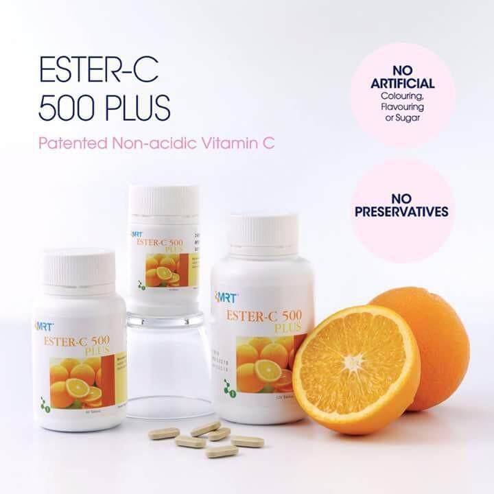Elken Ester-C 500 Plus (60 Tablets) - HEP060