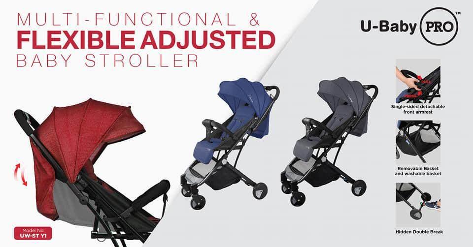 U-Baby Pro Series First baby Stroller Model UWSTY1