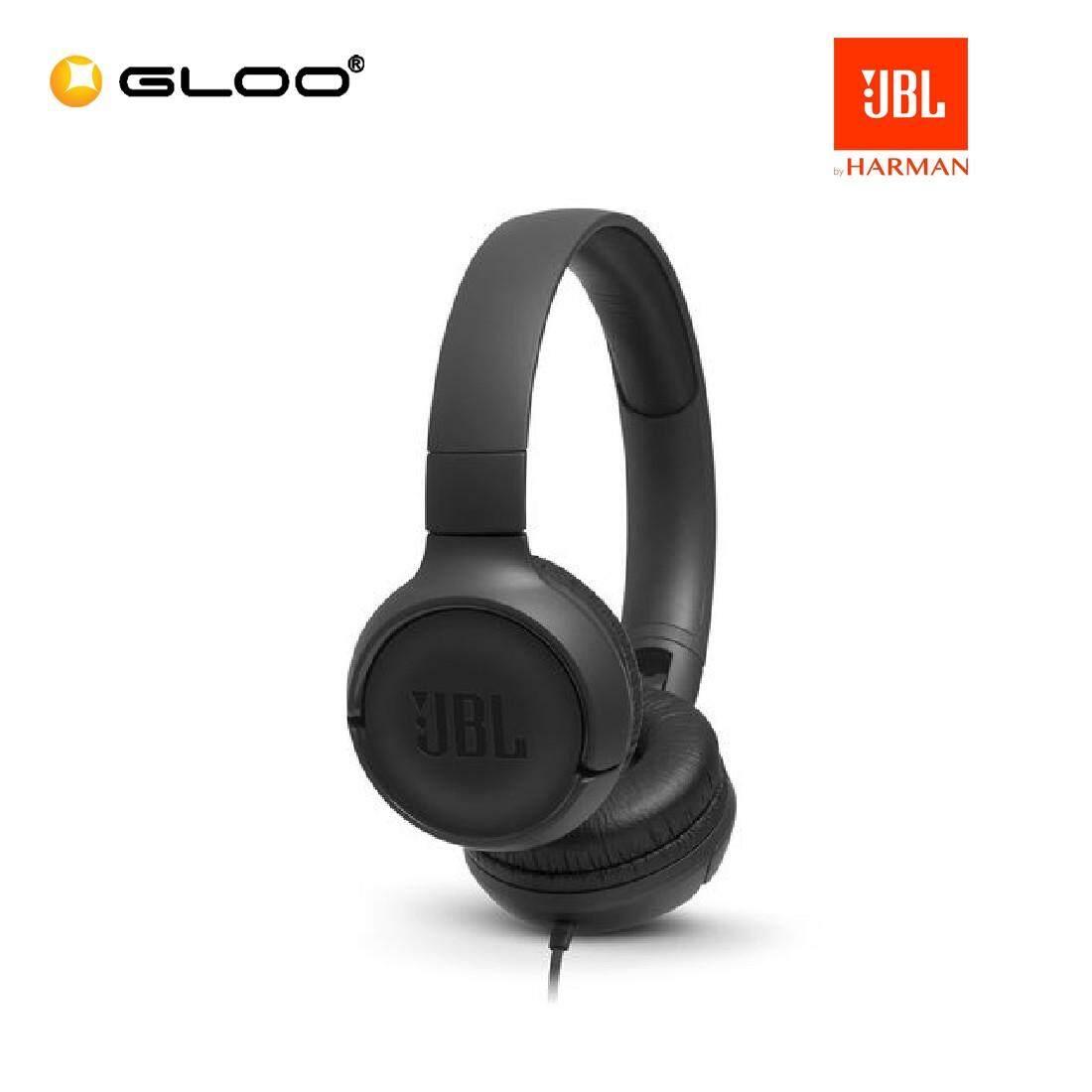JBL T500 On-Ear Headphones Pink/Blue/Black