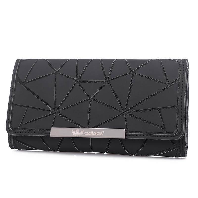 Adidas_Trefoil 3D Roll NEW Long Wallet Unisex + GIFT BOX