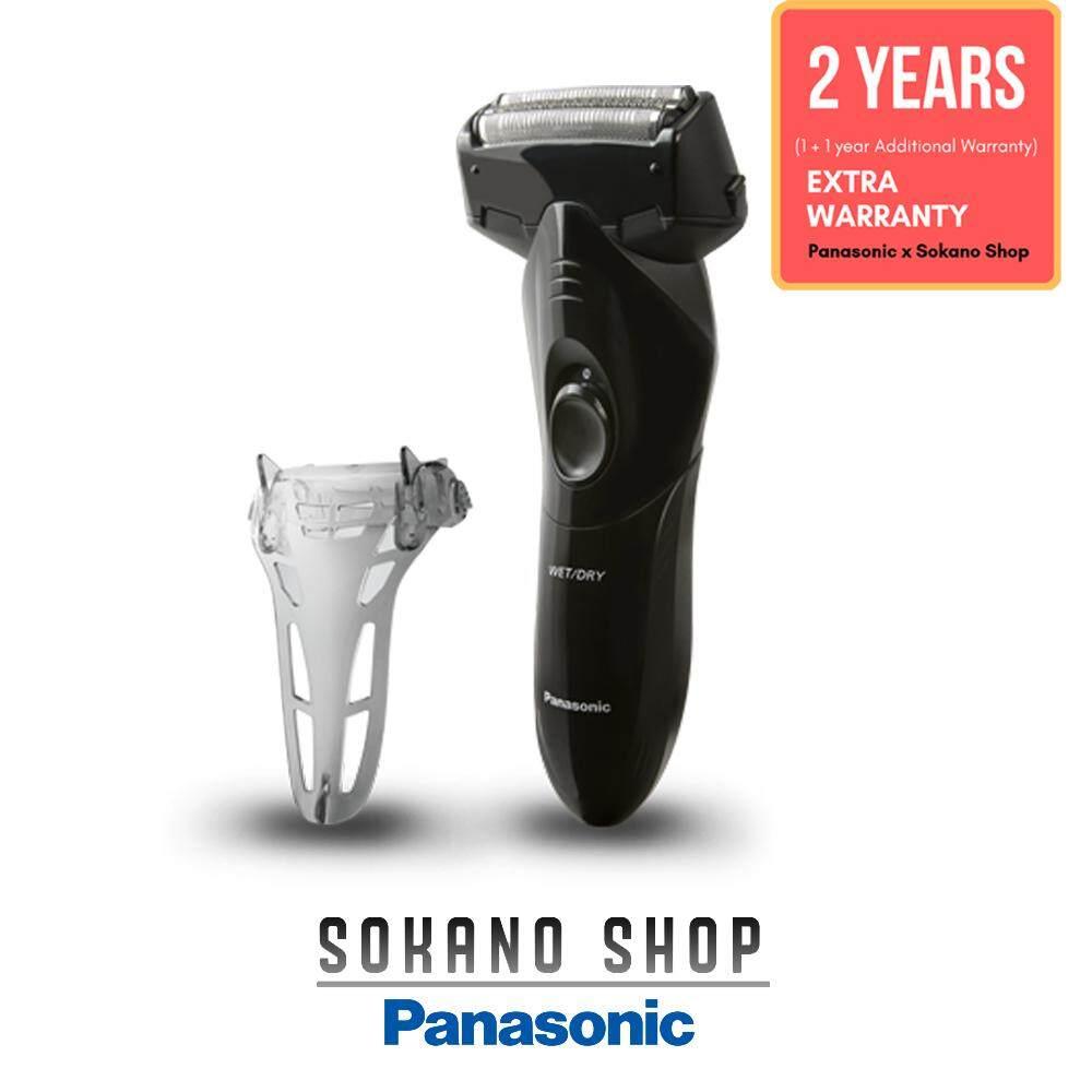 Panasonic ES-SL10-K Operate 3-Blade Wet/Dry Washable Shaver