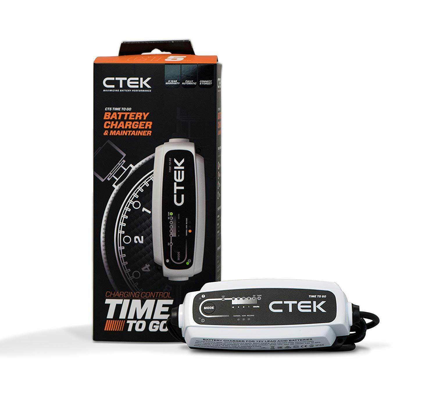 CTEK - CT5 Time To Go Smart Battery Charger 12V