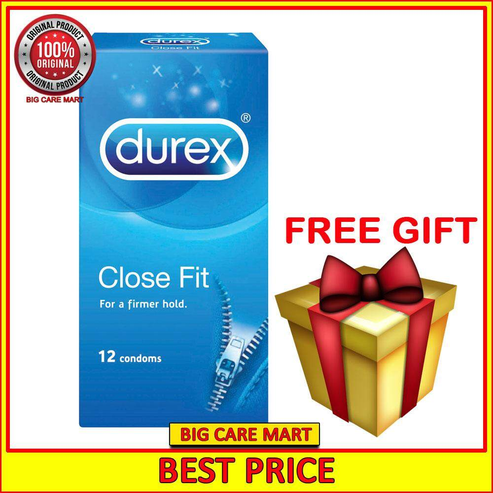 Durex Close Fit Tighter Condom 12s + FREE MYSTERY GIFT