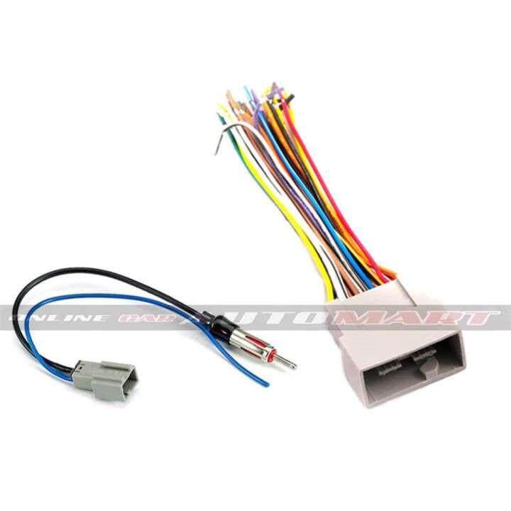 Honda City 2008-2012, Jazz 2008-2012, Accord 2008-2012 OEM Plug and Play  Socket Cable + Antenna Socket
