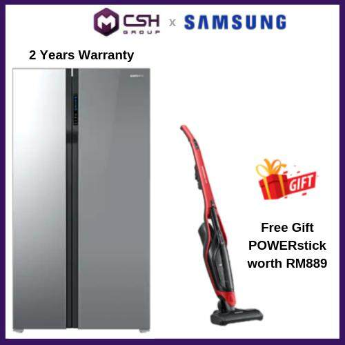 Samsung 2 Door 536 ℓ Side by Side with Digital Inverter Technology (RS55K50A02A/ME) RS55K50A02A/ME