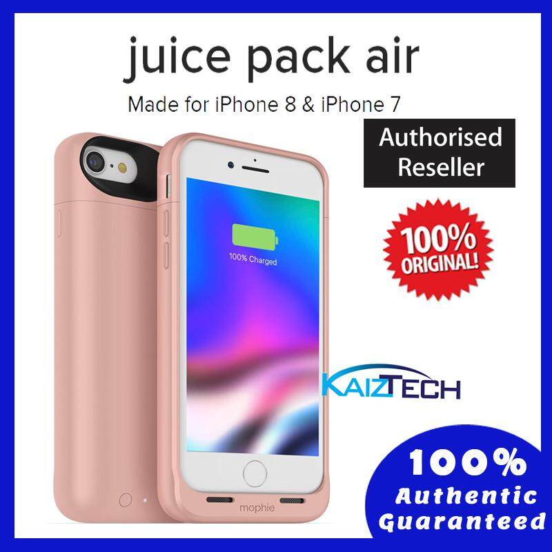 size 40 ad749 7953f Original Mophie Juice Pack Air Wireless Battery Case 2,525mAh for iPhone 7  & iPhone 8