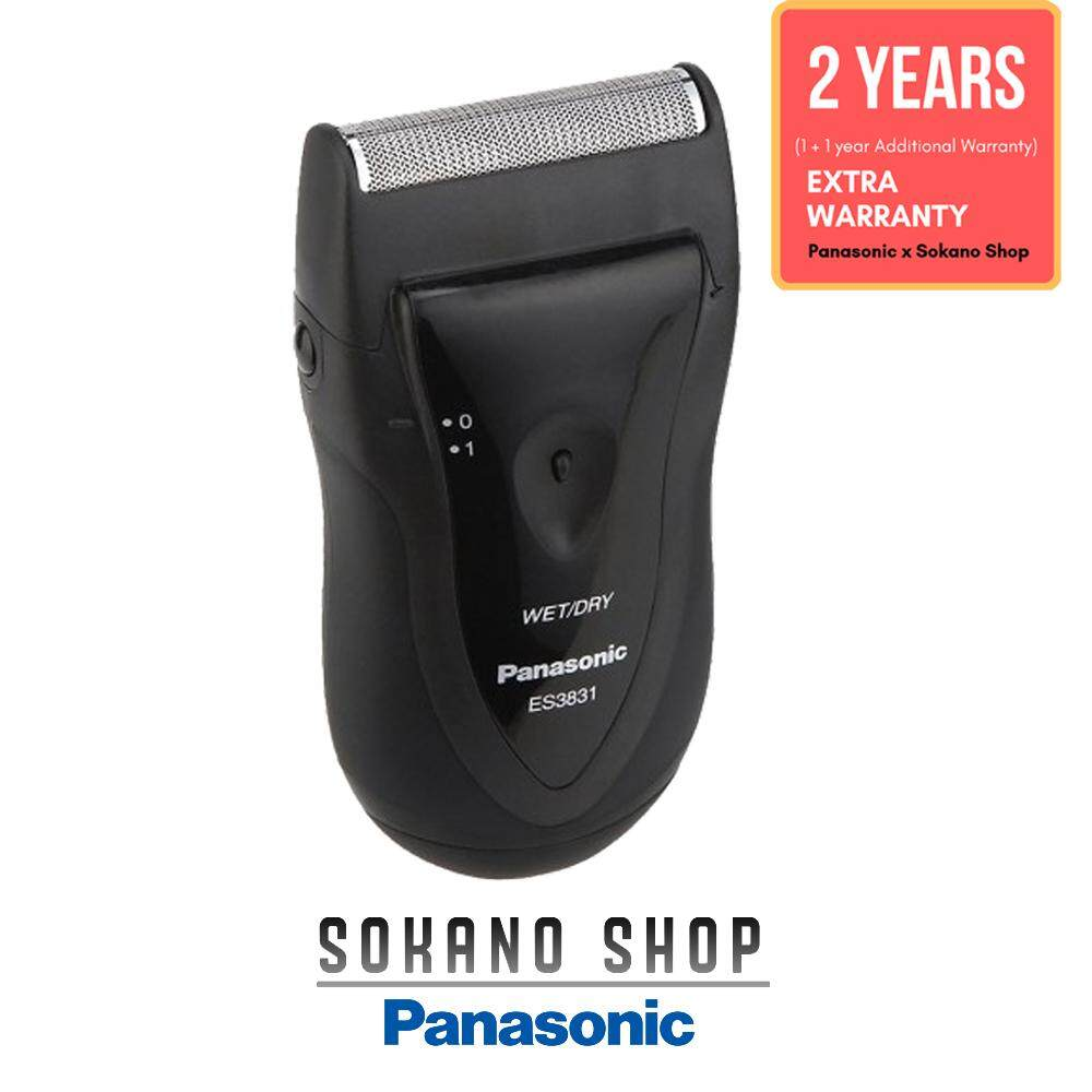 Panasonic ES3831K Refreshing Shave Blade Wet and Dry Travel Shaver
