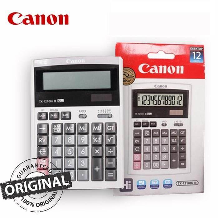 Canon 12-Digit Calculator TX-1210Hi III