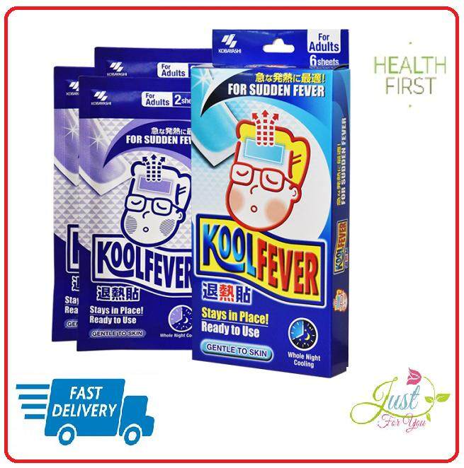 Koolfever Cooling Gel Adults 6 sheets CLEARANCE SALE 2019!!!!!