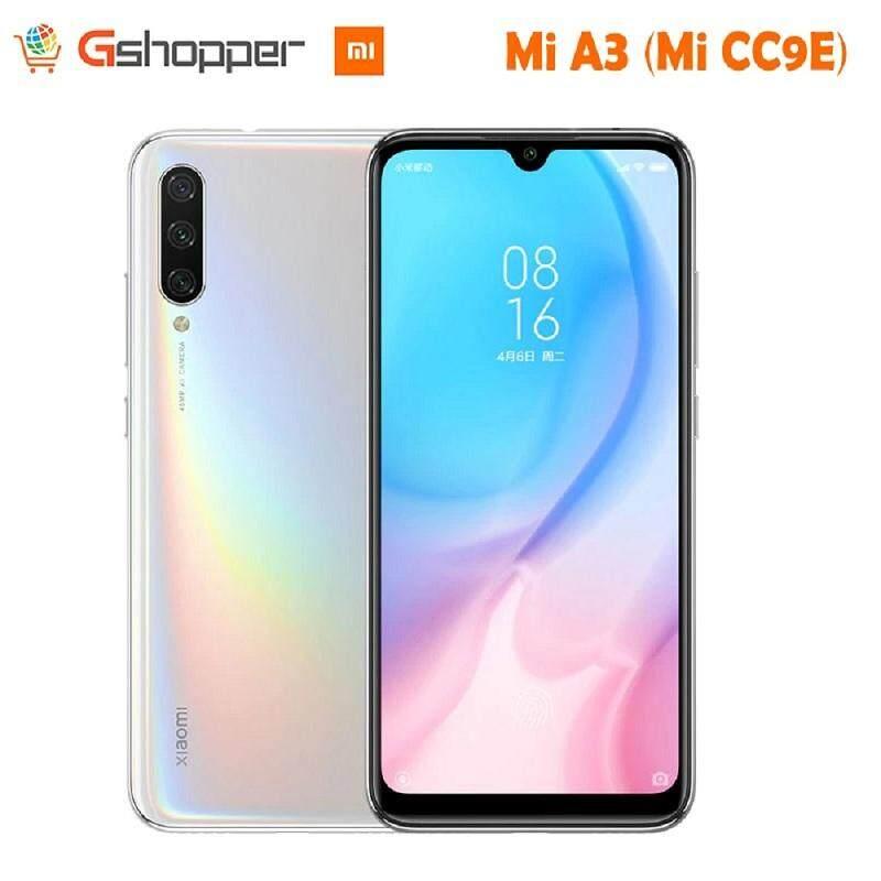 ยี่ห้อนี้ดีไหม  จันทบุรี In Stock Global Version Xiaomi Mi A3 MiA3 4GB 64GB/128GB 32MP+48MP Camera 4030mAh Mobile Phone Snapdragon 665 Octa Core 6.088